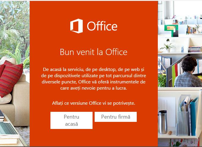bun venit la Office