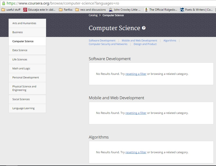 Coursera offers CS