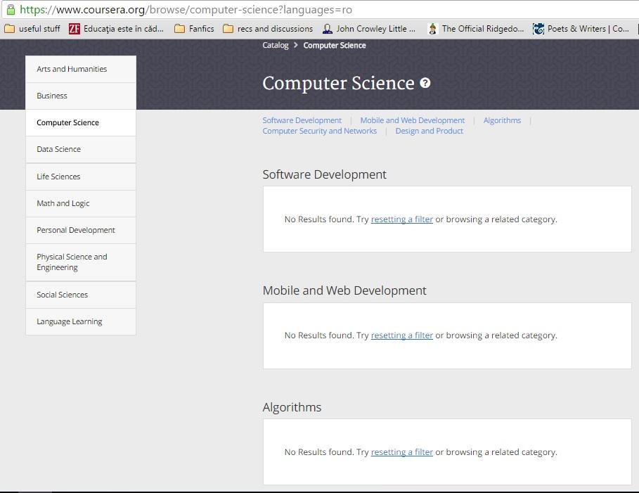 Coursera offers CS