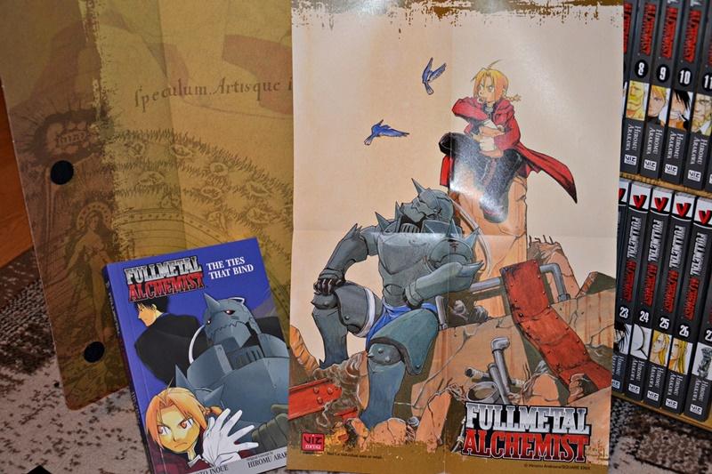 Fullmetal Alchemist Box Set Bonuses