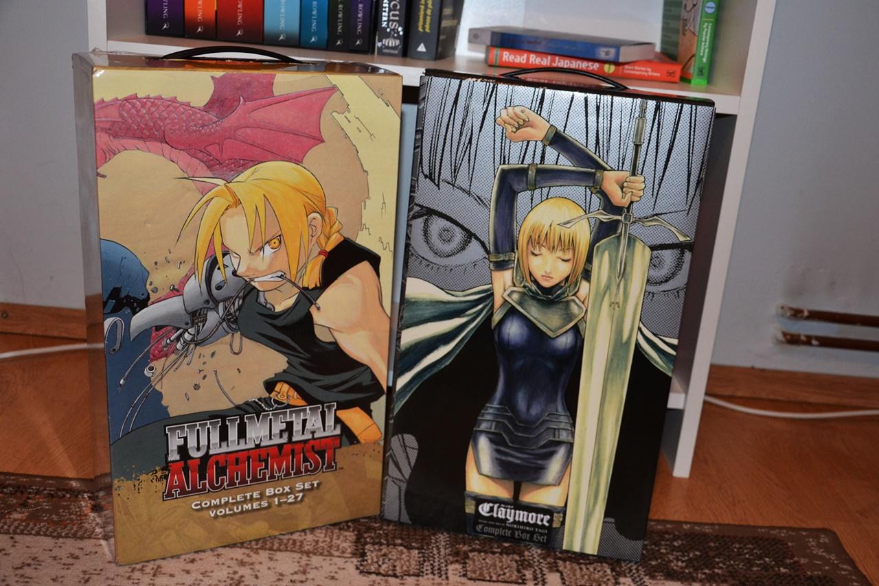 Fullmetal Alchemist & Claymore Box Sets