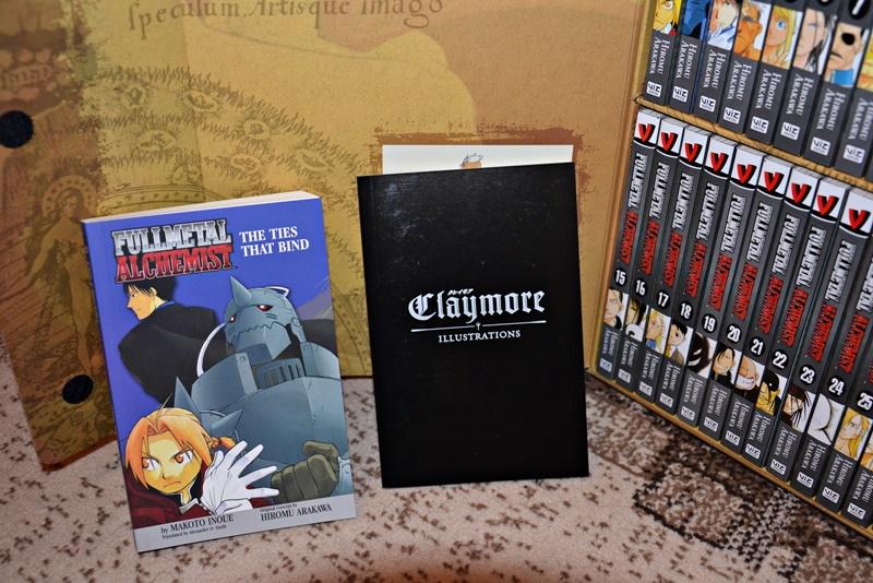 Fullmetal Alchemist Claymore bonuses