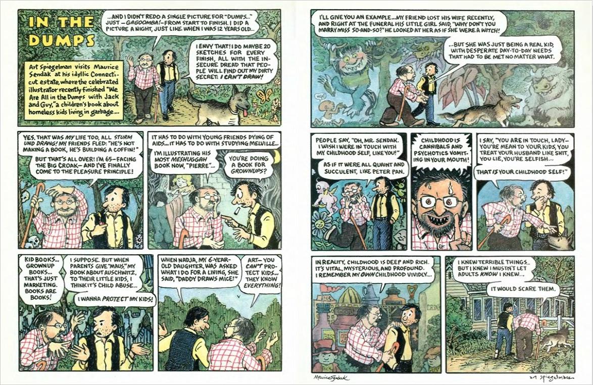 maurice-sendak-art-spiegelman-comic-new-yorker-1