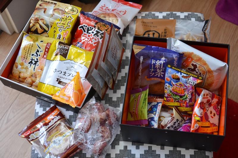 Cutie Bokksu deschisă (tot ce conține)